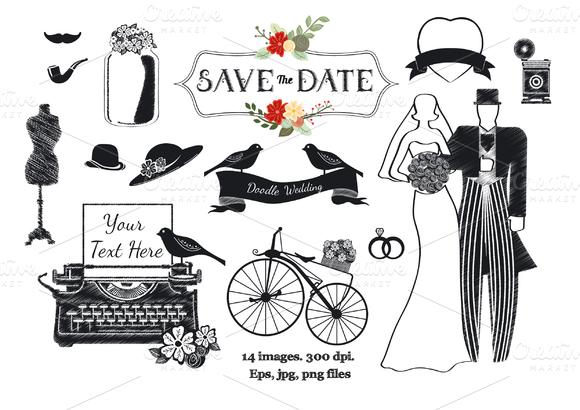 Doodle Wedding