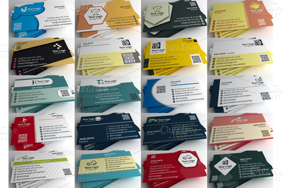 Vol.4 20 Business Card Templates
