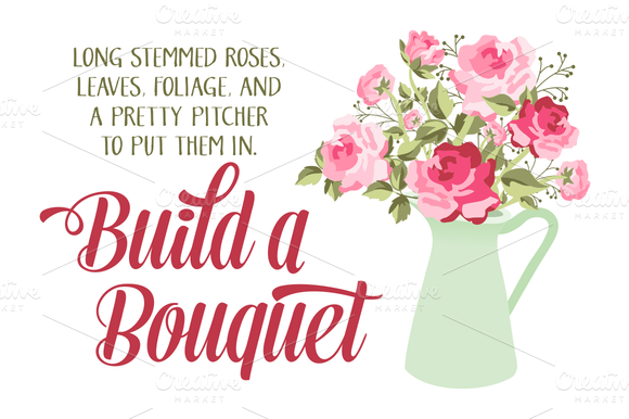 Build A Rose Bouquet