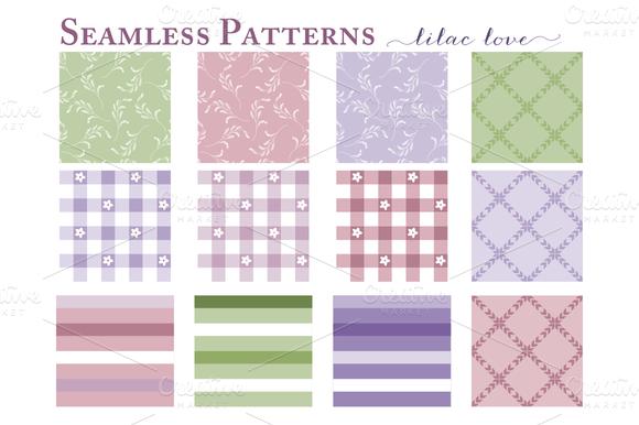 Seamless Patterns Web Tiles