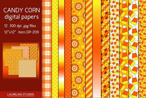CANDY CORN Digital Paper