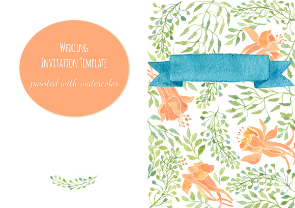 Invitation Greeting Card Template