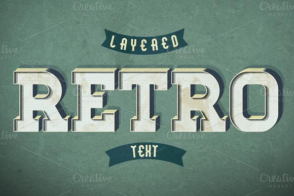 Retro Text Style V2