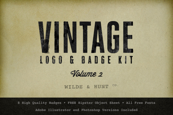 Vintage Logo Badge Kit
