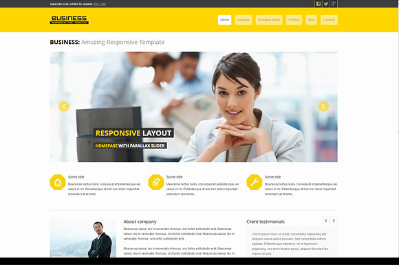 Business Corporate Bootstrap Theme
