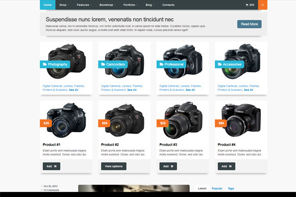 Camerastore- Theme For Ecommerce