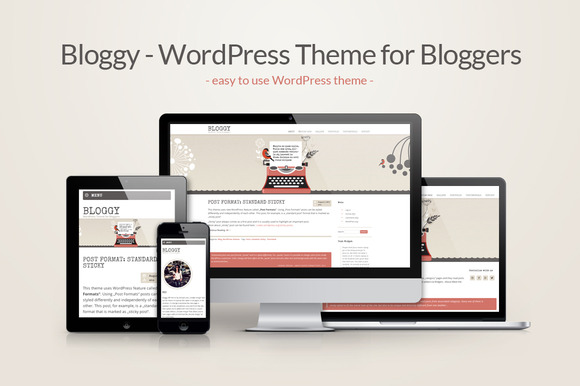 Bloggy-WordPress Theme