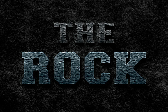 The Rock Photoshop Style