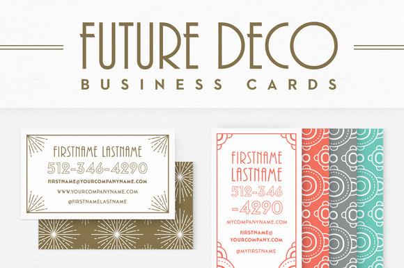 FutureDeco Business Cards