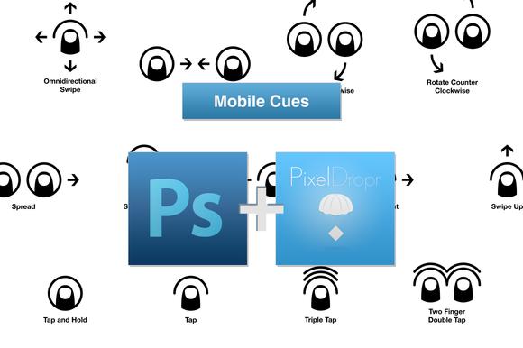 Mobile Cues PSD PixelDropr Refill