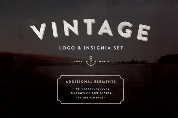 Vintage Logo Insignia Starter Kit