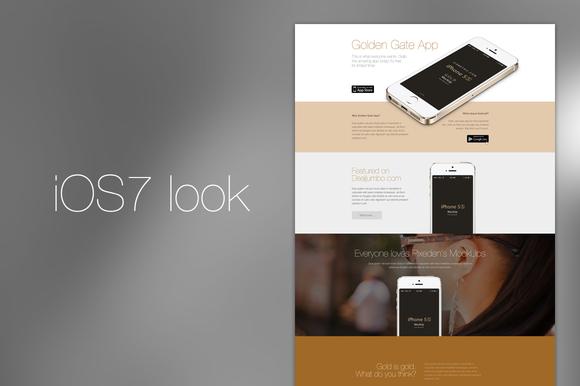IOS7 App Retina Template