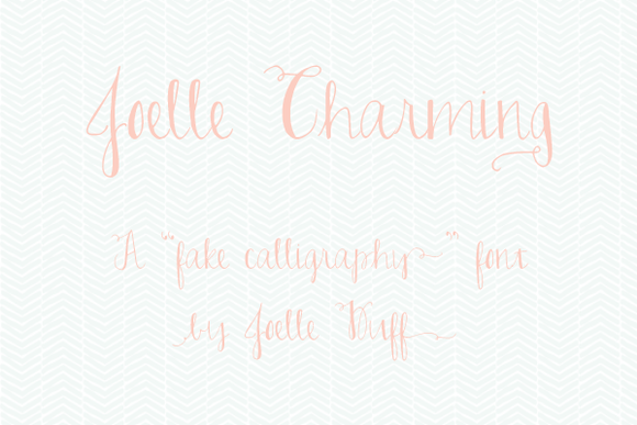 Joelle Charming The Font