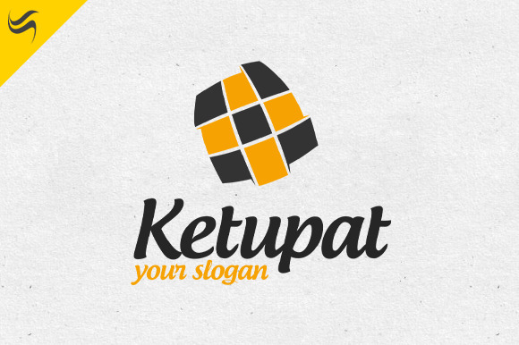 Ketupat Logo Template