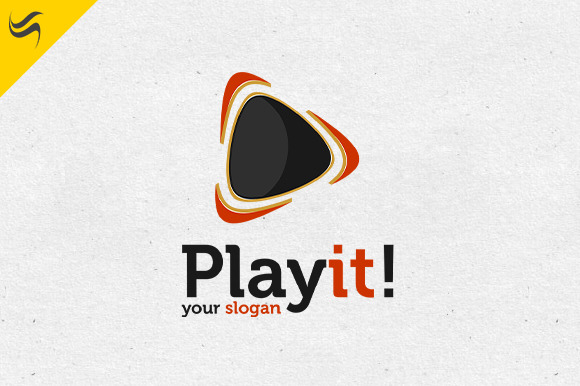 Play It Logo Template