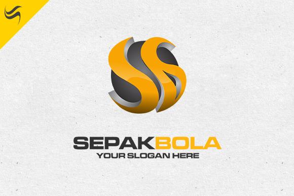 Sepak Bola Logo Template