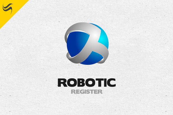 Robotic Register Logo Template