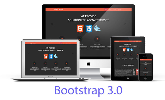 Simply Wonder Bootstrap 3 Portfolio
