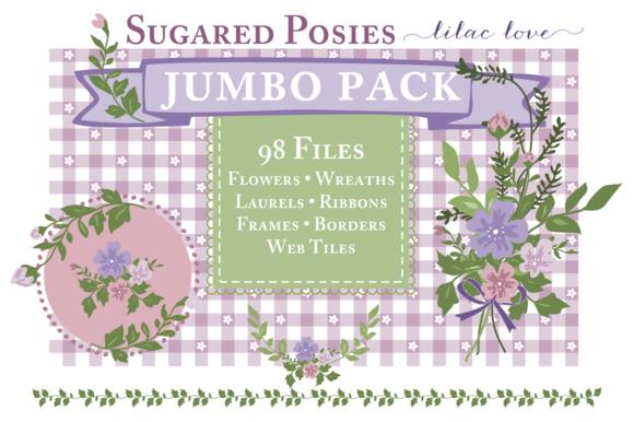 Purple Floral Web Bundle