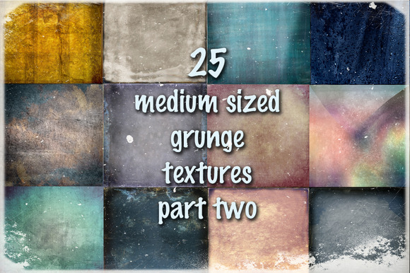 Medium Sized Grunge Textures Part 2