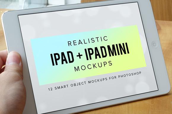 Realistic IPad IPad Mini Mockups