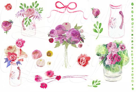 32 Watercolour Graphics