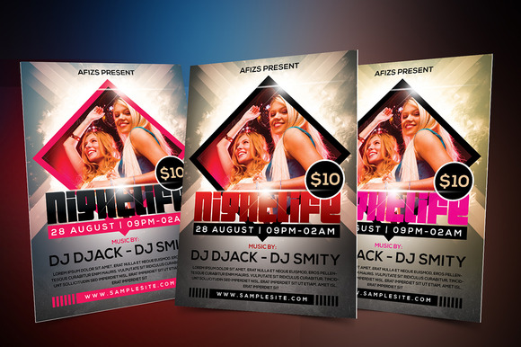 Night Life Party Flyer