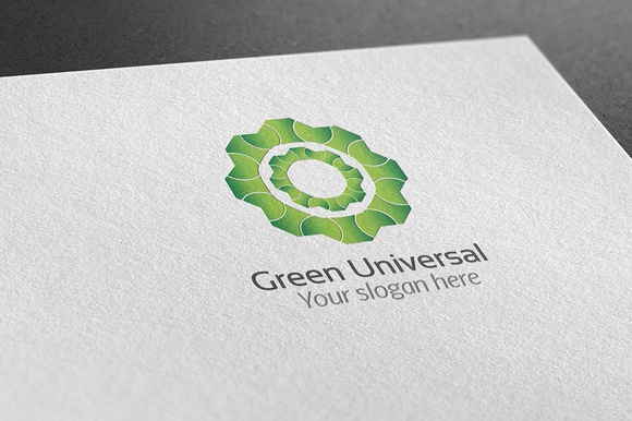 Green Universal Logo