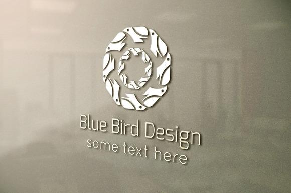 Blue Bird Design Logo