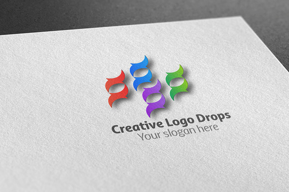 Creative Drops Logo