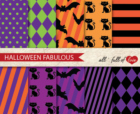 Halloween Party Crafts Paper Kit