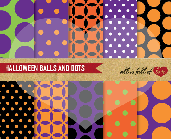 Halloween Digital Scrapbooking Kit