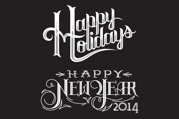Holiday Vector Lettering