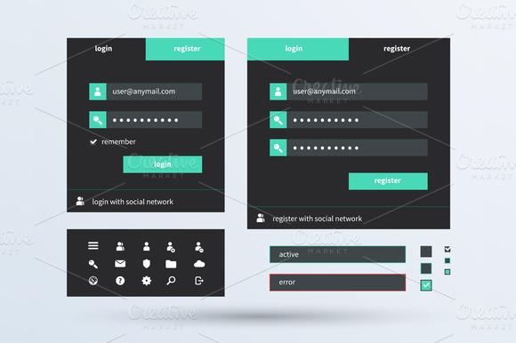 UI Set Of Beautiful Web Components