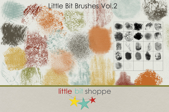 Little Bit Brushes Vol.2