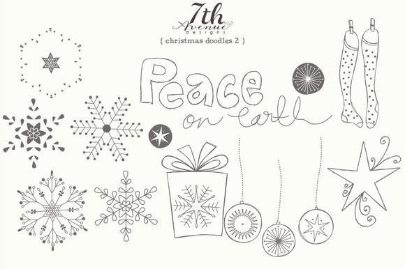 Christmas Doodles 2