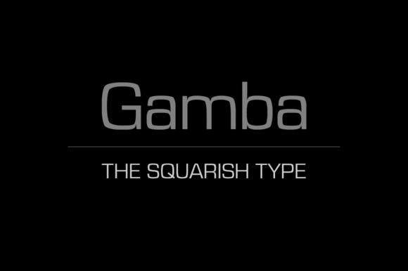 Gamba Font