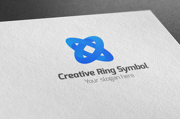 Creative Ring Symbol Logo