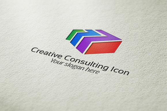 Creative Consulting Design Logo