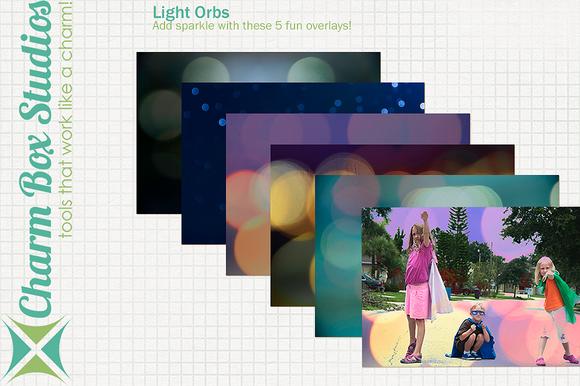 Light Orbs Overlays