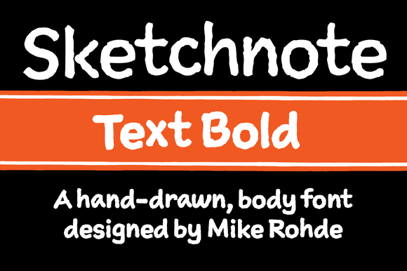 Sketchnote Text Bold