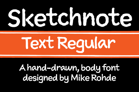 Sketchnote Text Regular