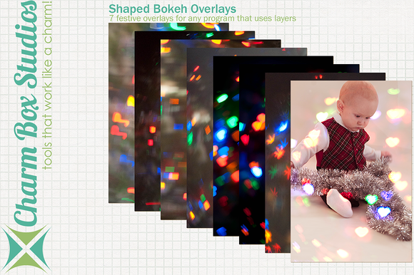 Shaped Bokeh Overlays