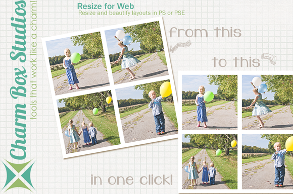 Resize For Web Action