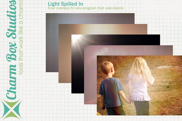 Light Spilled In Overlays