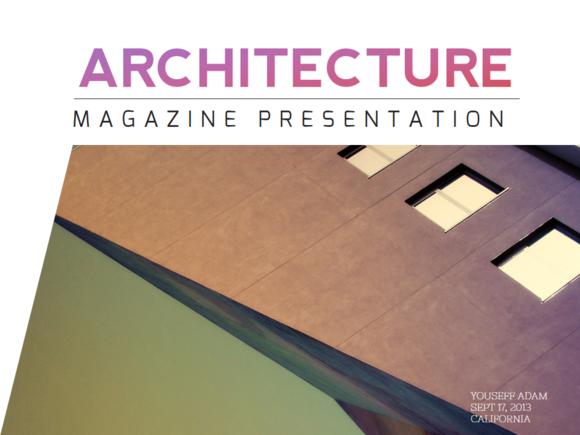 Minimal Architecture PowerPoint