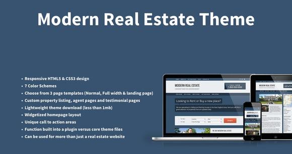 Modern Responsive Real Estate Theme