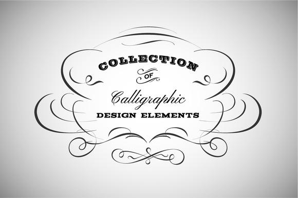 Vintage Calligraphic Emblem Logo