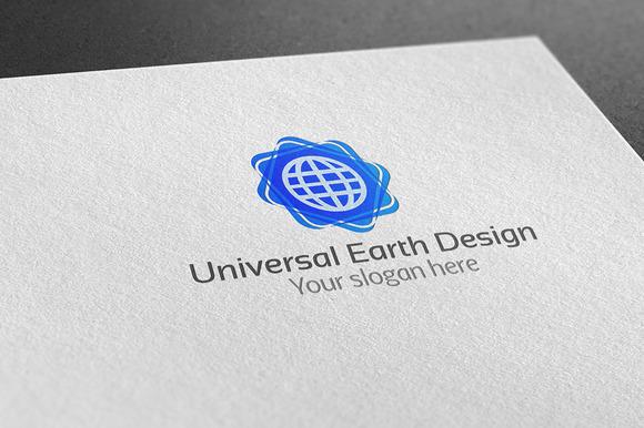Universal Earth Design Logo