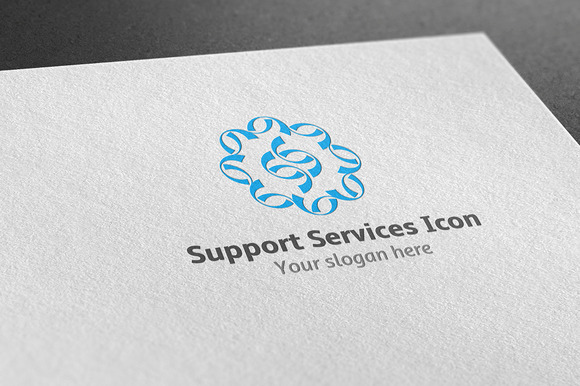 Support Services Icon Logo